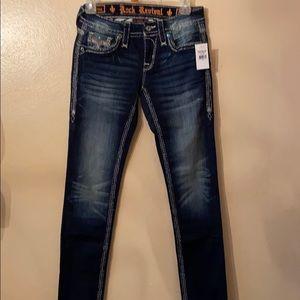 Rock Revival bejeweled jeans